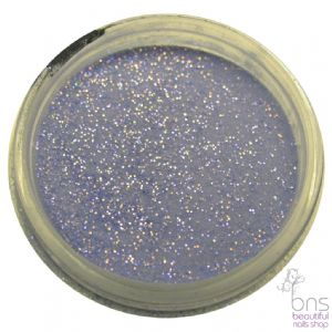 Dark Blue Nail Acrylic Powder with fine glitter /107/ 4g